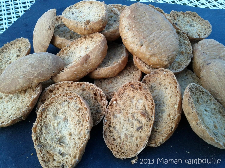 Petits pains suédois au sarrasin