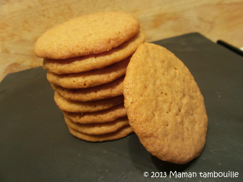 Cookies à la fleur d'oranger