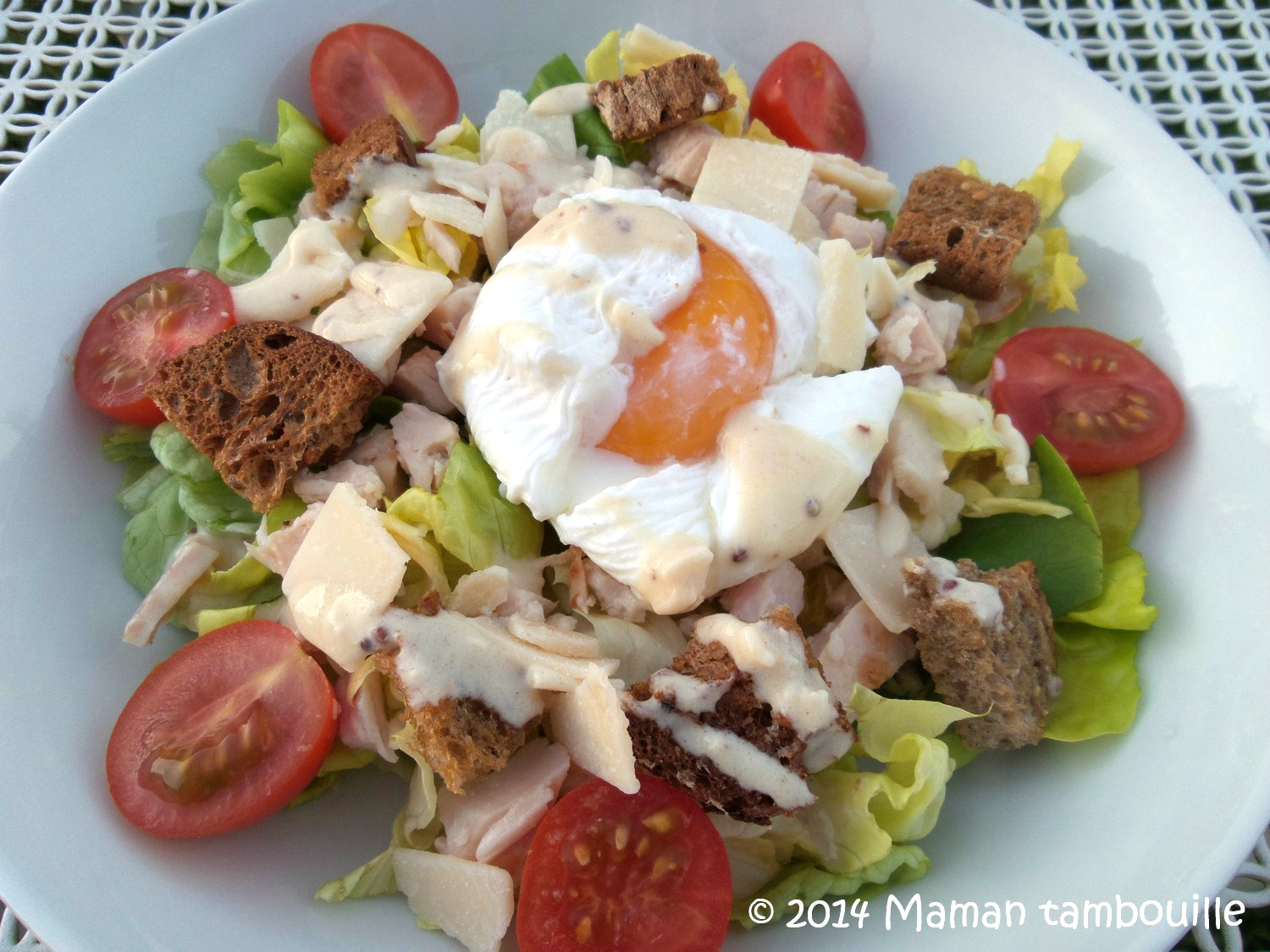 Read more about the article Salade césar