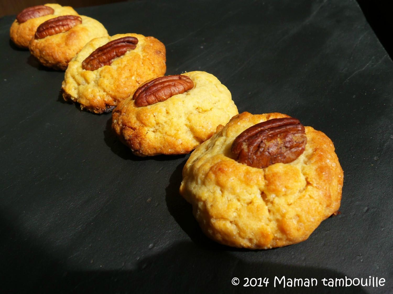 American cookies aux noix de pecan