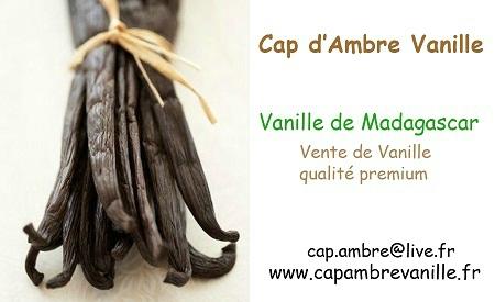 Partenaire Cap d'Ambre Vanille