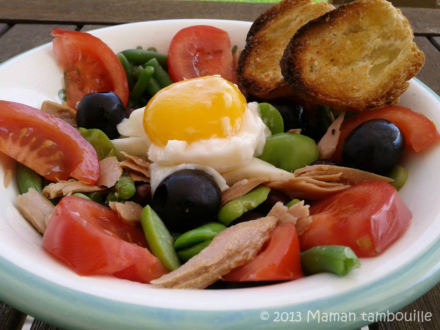 You are currently viewing Salade niçoise à ma façon