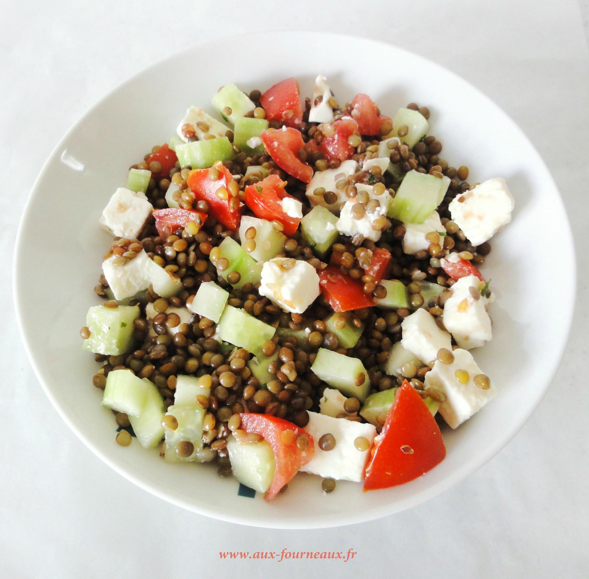 Vous avez testé et approuvé: La salade de lentilles à la Grecque