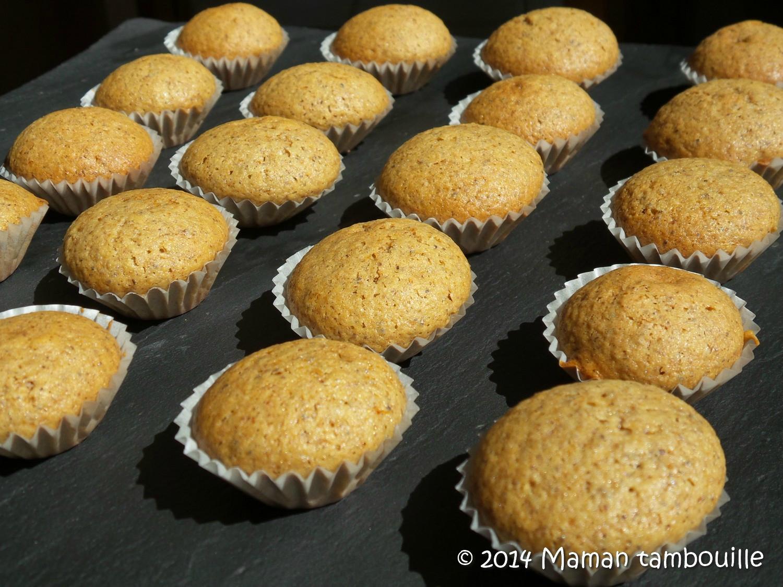 Mini cakes aux noix