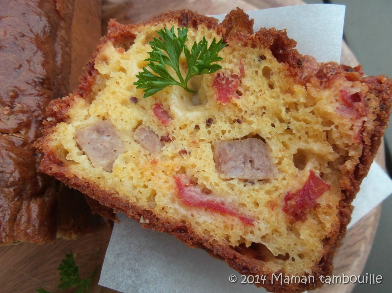 Cake au pâté Hénaff