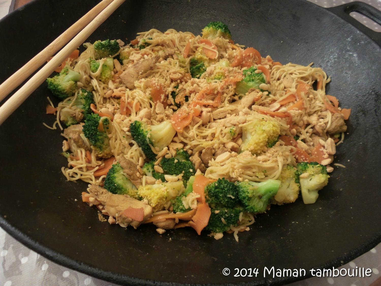 Read more about the article Wok de poulet aux légumes croquants