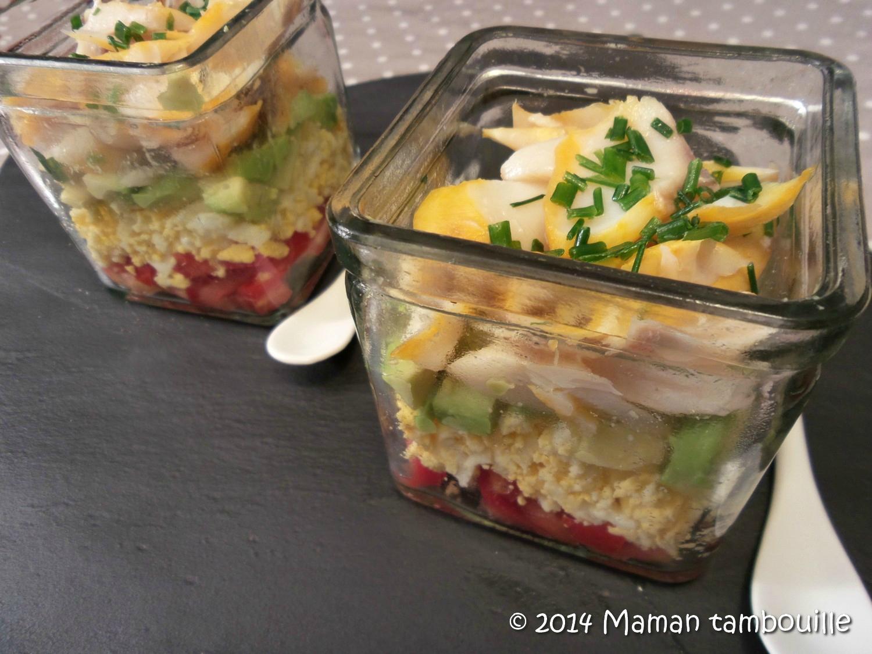 Salade au haddock