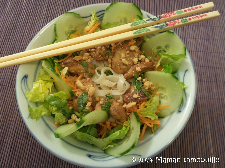 Read more about the article Bo Bun de poulet