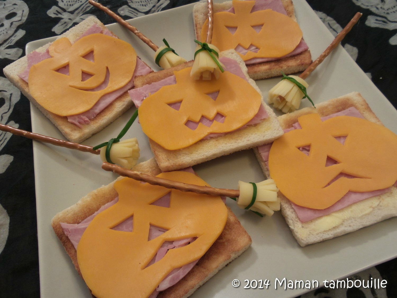 Tartines citrouilles