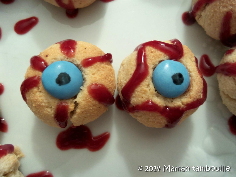 Les yeux sanglants d'Halloween