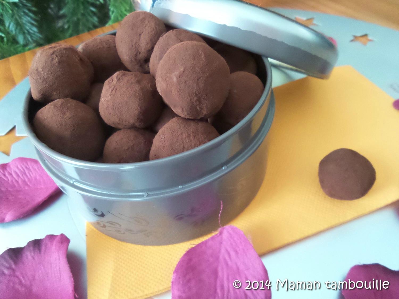 Truffes au caramel beurre salé