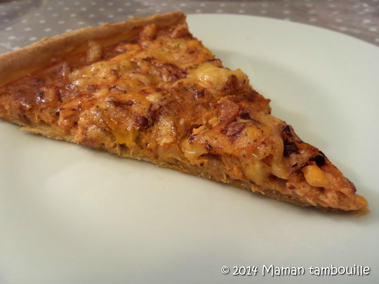 Read more about the article Tarte Isa thon et tomate