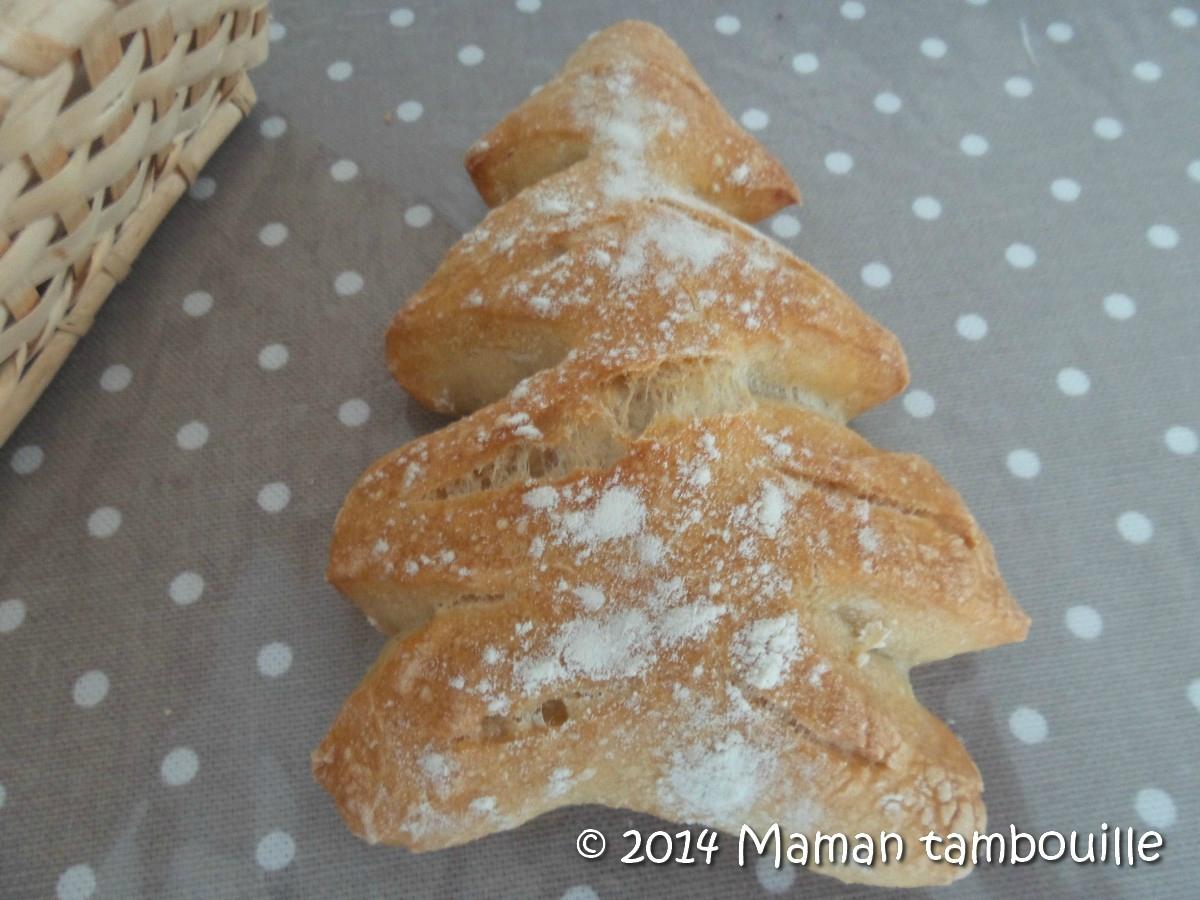 Petits pains sapin