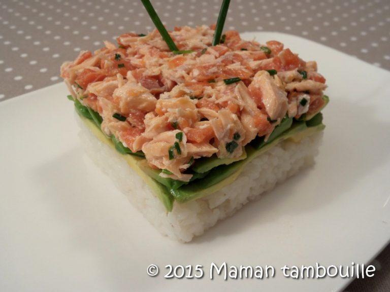 Read more about the article Faux tartare de saumon au riz