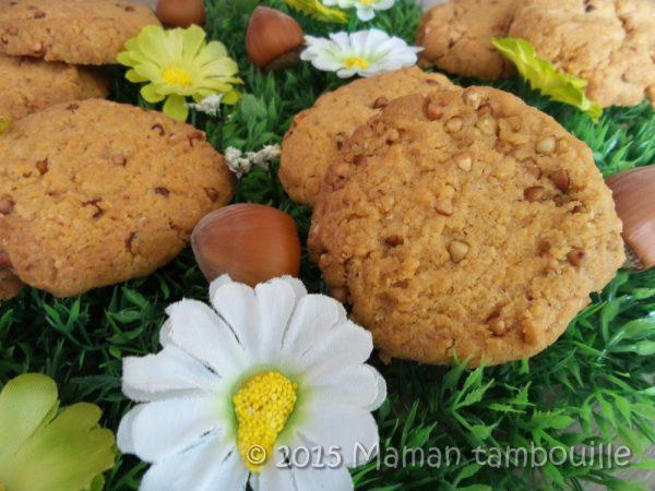 Biscuits noisette sarrasin