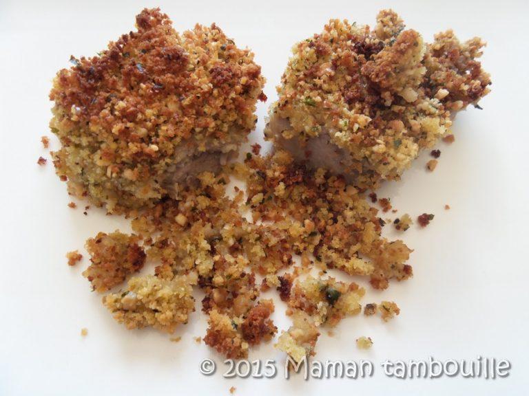 Filet mignon en croute de noix de cajou