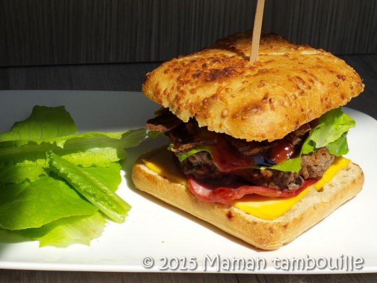Burger oignons