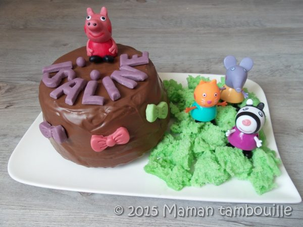 Pinata cake Peppa Pig