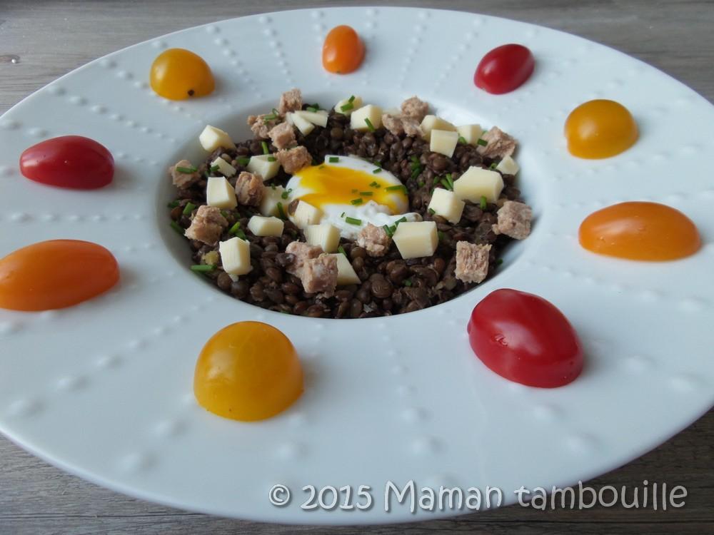 Read more about the article Salade de lentilles au pâté Hénaff