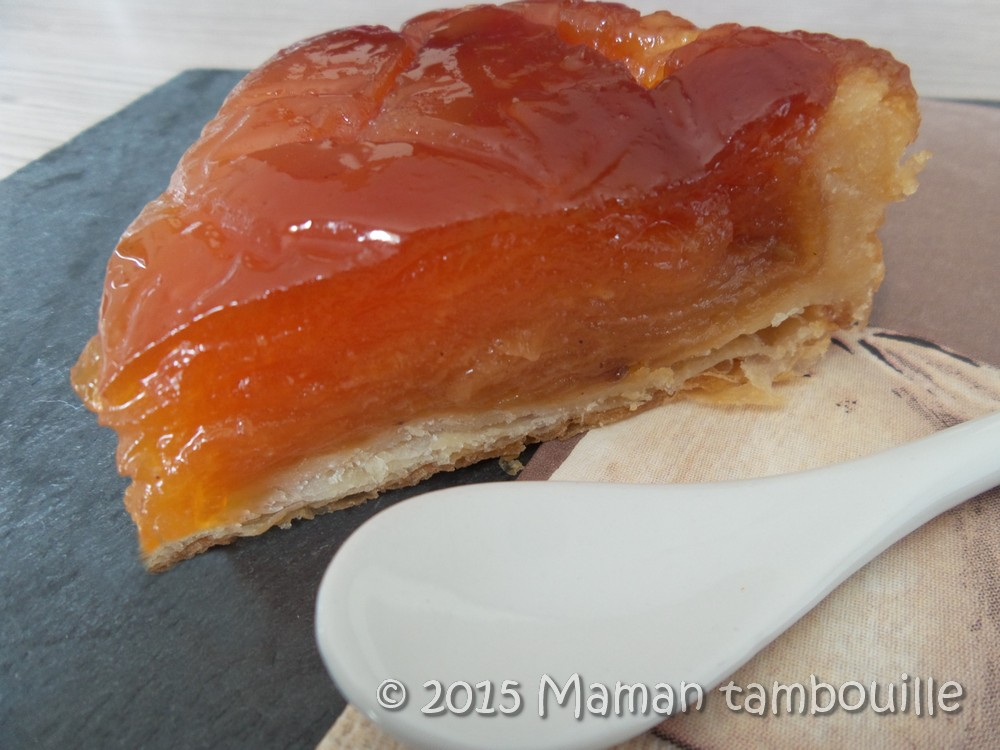 You are currently viewing Tarte tatin façon Conticini