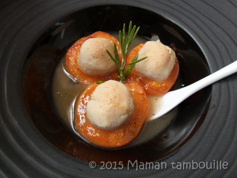 Read more about the article Abricots rôtis aux amaretti