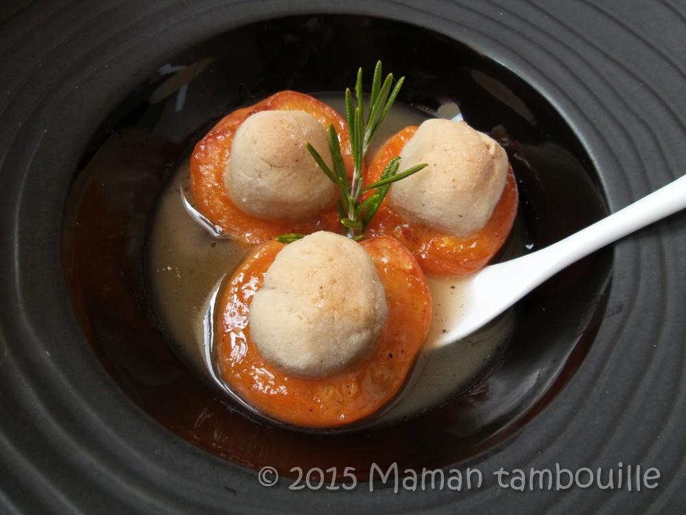 Abricots rôtis aux amaretti