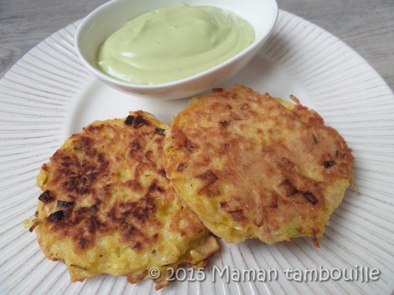 Read more about the article Galettes de pommes de terre au crabe