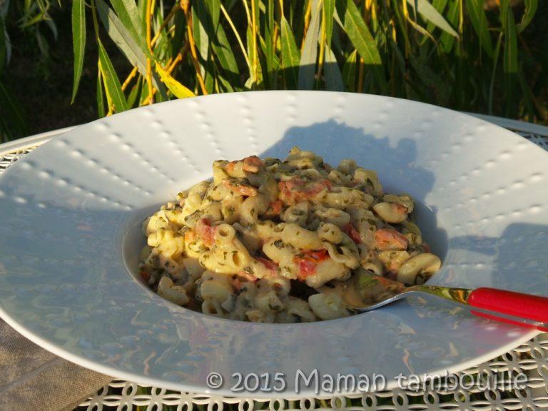Read more about the article One pot pasta au saumon