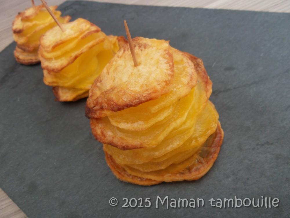 Tour de pommes de terre au four