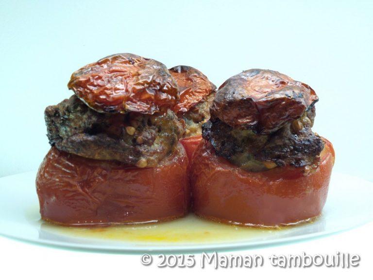 Tomates farcies au sarrasin