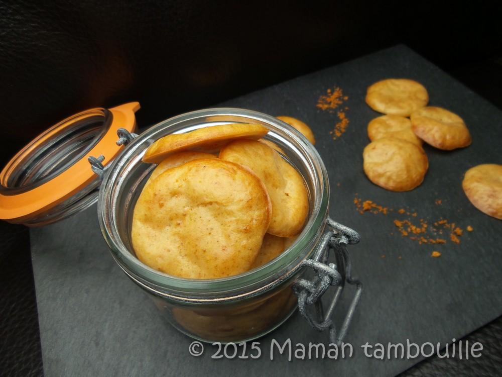 Biscuits apéro bolognaise {sans gluten}