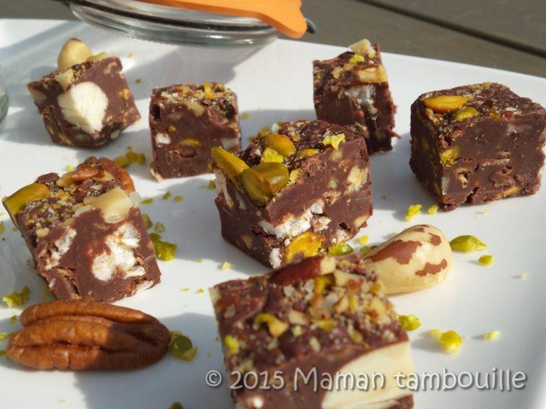 Read more about the article Fudge aux fruits secs