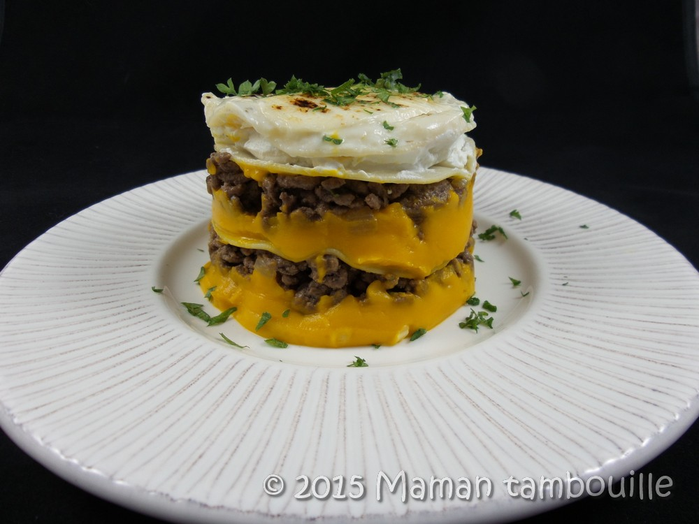 Lasagnes au potimarron et boeuf