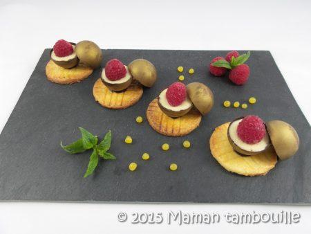 mini spheres cremeux vanille framboise12