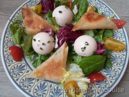 salade saumon brick crevettes13