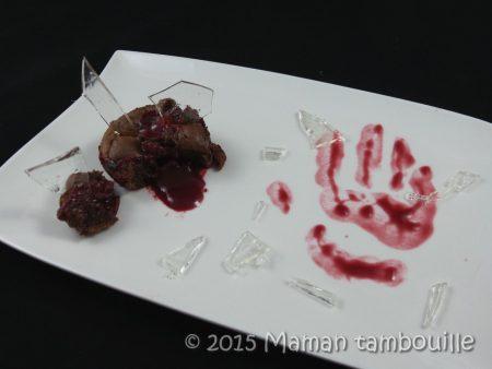 moelleux chocolat coeur framboise halloween33