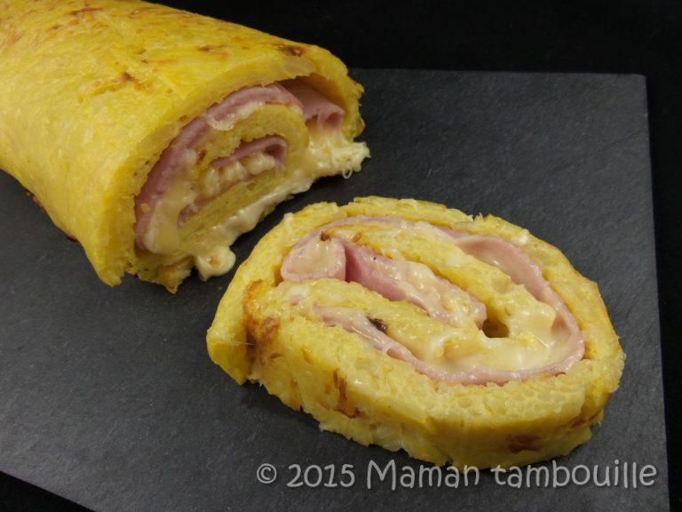 Read more about the article Roulé de pomme de terre au jambon