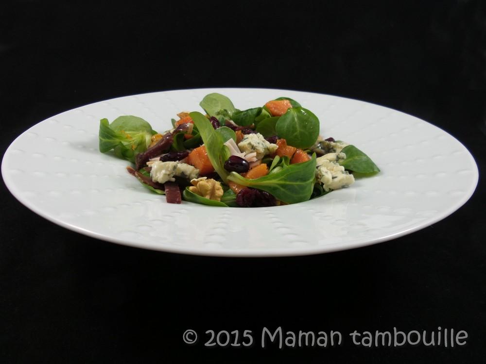 Salade d'automne aux patates douces