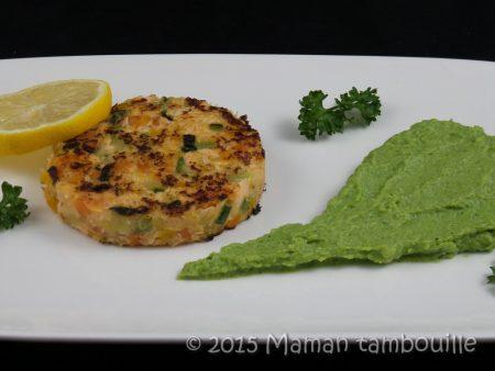 steack de saumon aux legumes32