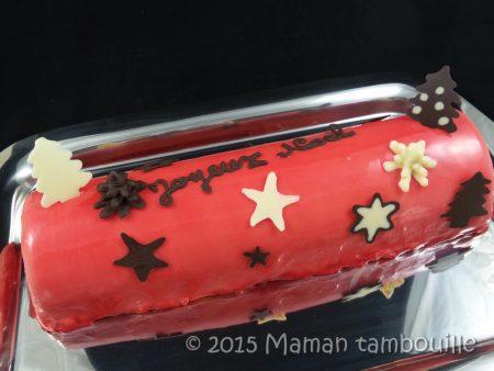 buche mangue insert framboise60
