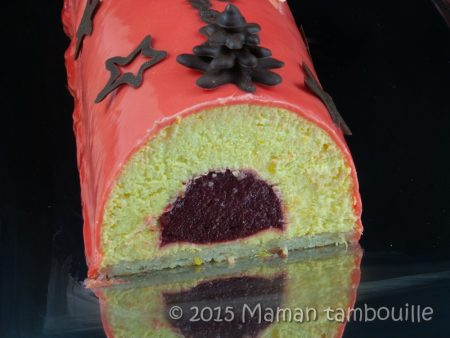 buche mangue insert framboise61