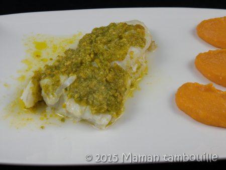 cabillaud au beurre de pistache truffé17