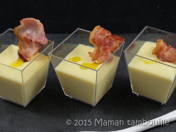 Crème de poireaux truffée