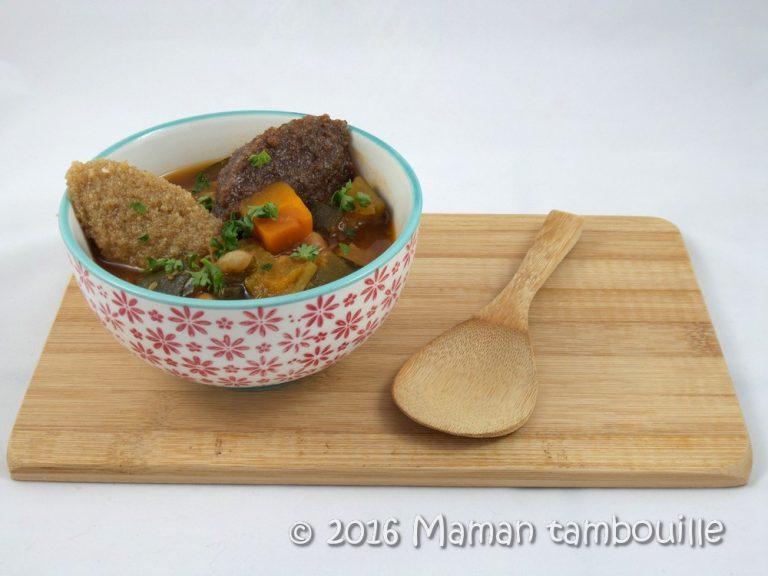 Couscous express végétarien et sans gluten
