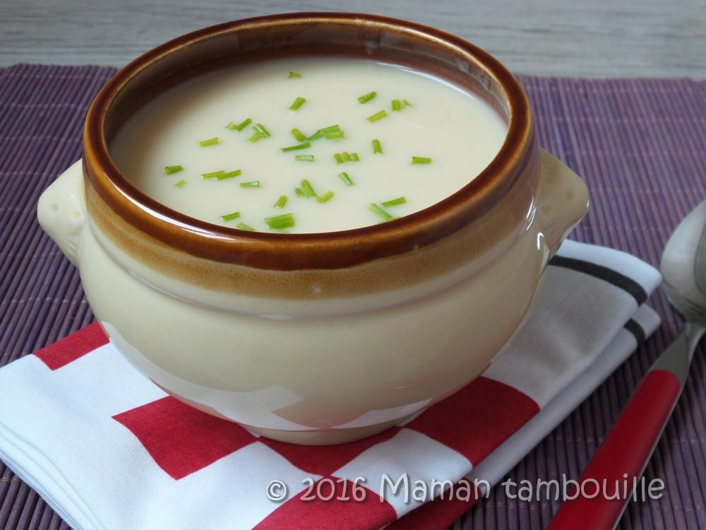 Crème de topinambour