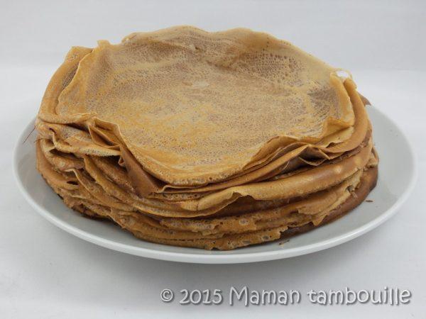 Crêpes à la farine de châtaigne {sans gluten}
