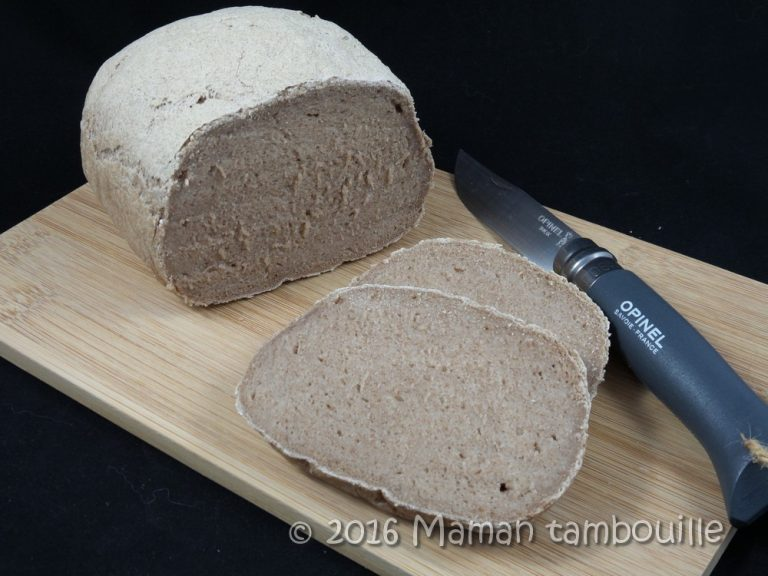 Read more about the article Pain à la farine de teff {sans gluten}