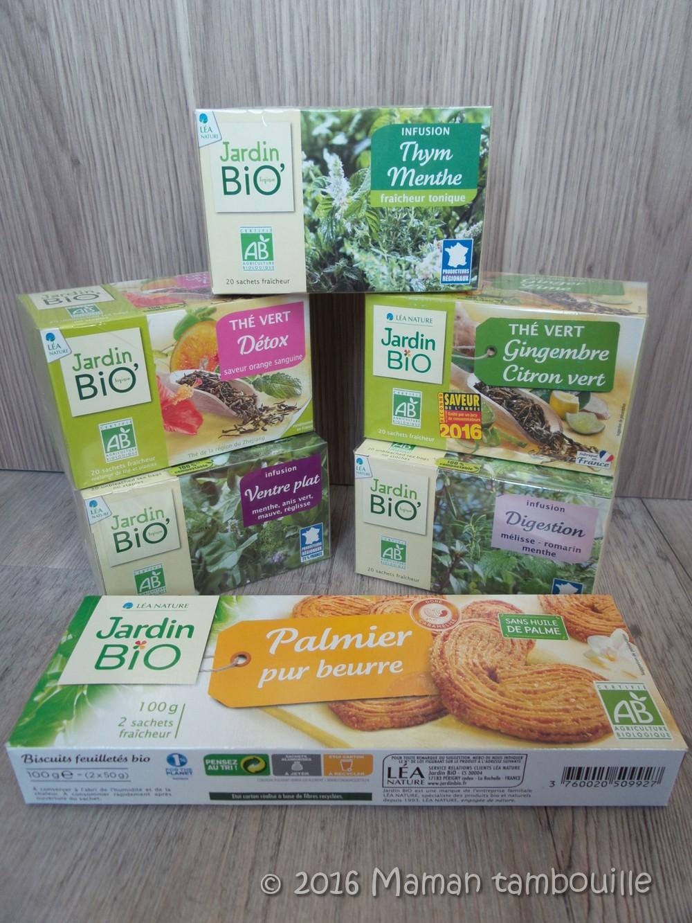 Jardin Bio, thés et infusions {partenariat}