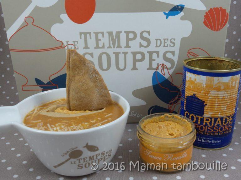 Read more about the article Bateau de sarrasin sur sa soupe de poisson
