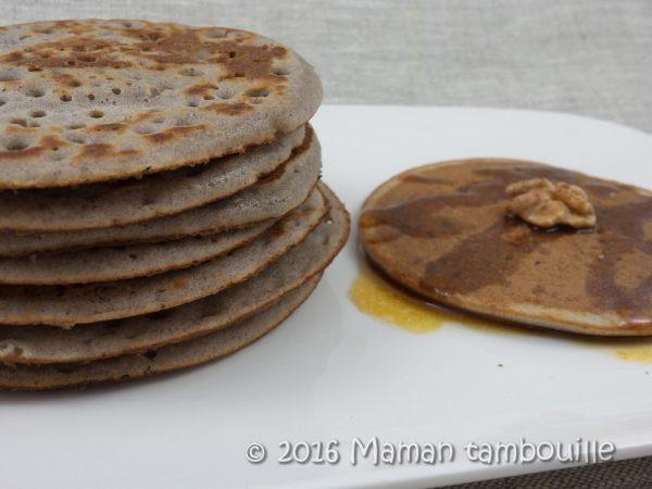 Pancakes de sorgho {sans gluten}